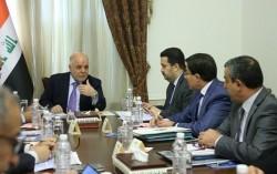 رئيس مجلس الوزراء الدكتور حيدر العبادي يترأس الاجتماع الاول للجنة العليا للإستثمار والإعمار