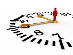 دورة تدريبية بعنوان (إدارة الوقت وضغوطات العمل) للمدة من 15-2019/7/18