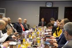 (بيان) زيارة وفد من وزارة الخزانة الامريكية للبنك المركزي العراقي