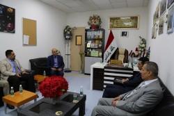 البنك المركزي العراقي / فرع البصرة في مستشفى البصرة التخصصي للطفل