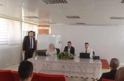 البنك المركزي العراقي يقيم ورشة عمل بعنوان استمارة (KCY)