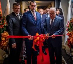 البنك المركزي يشارك في افتتاح المكتب التمثيلي لمصرف التنمية في دبي