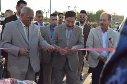 محافظ البنك المركزي العراقي يفتتح مشروع ألق بغداد