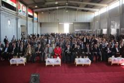 البنك المركزي العراقي يشارك بمعرض ميسان الدولي السادس للطاقة والاستثمار والاقتصاد