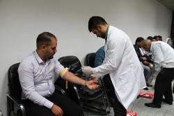 حملة للتبرع بالدم في البنك المركزي العراقي