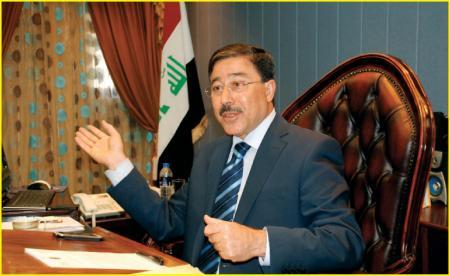محافظ البنك المركزي العراقي يلتقي رئيس الجامعة الامريكية في السليمانية