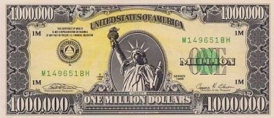 البنك المركزي ينفي تداول فئة (المليون) دولار كونها ورقة غير نقدية