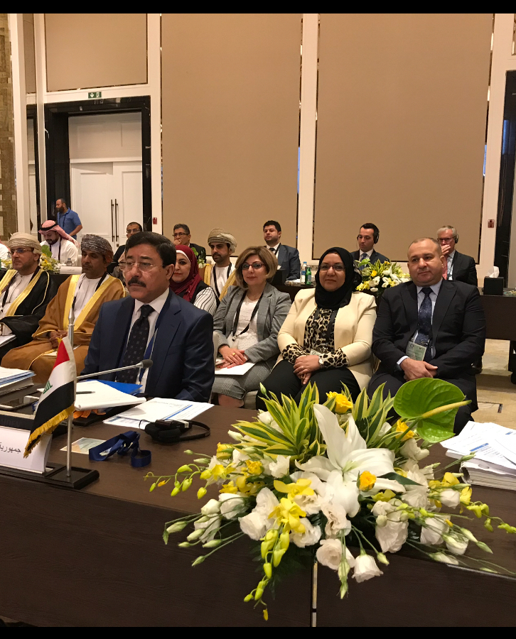 Governor of the Central Bank of Iraq participates in the meeting of the Board of Governors of central banks