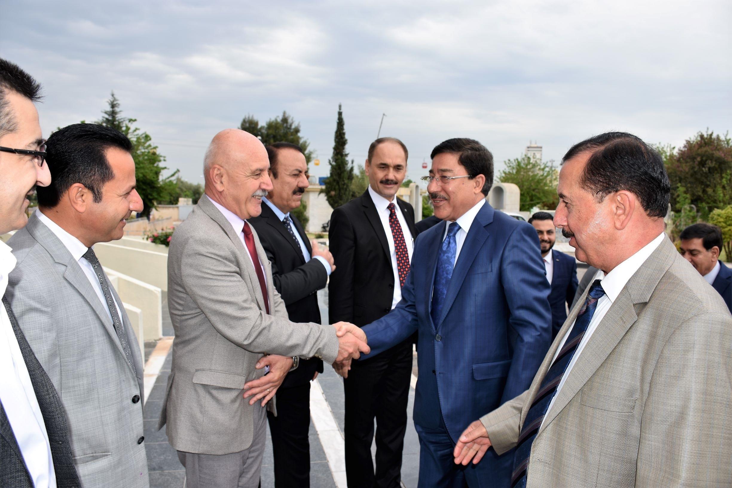 زيارة محافظ البنك المركزي العراقي لفرع اربيل
