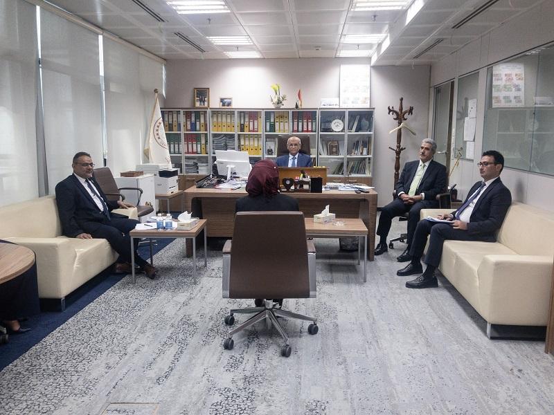 البنك المركزي العراقي يُقابل مرشَّحِي المصارف لشغل المناصب الإدارية
