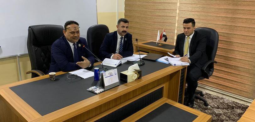 البنك المركزي يعقد اجتماعاً دورياً لفروع المصارف في الموصل