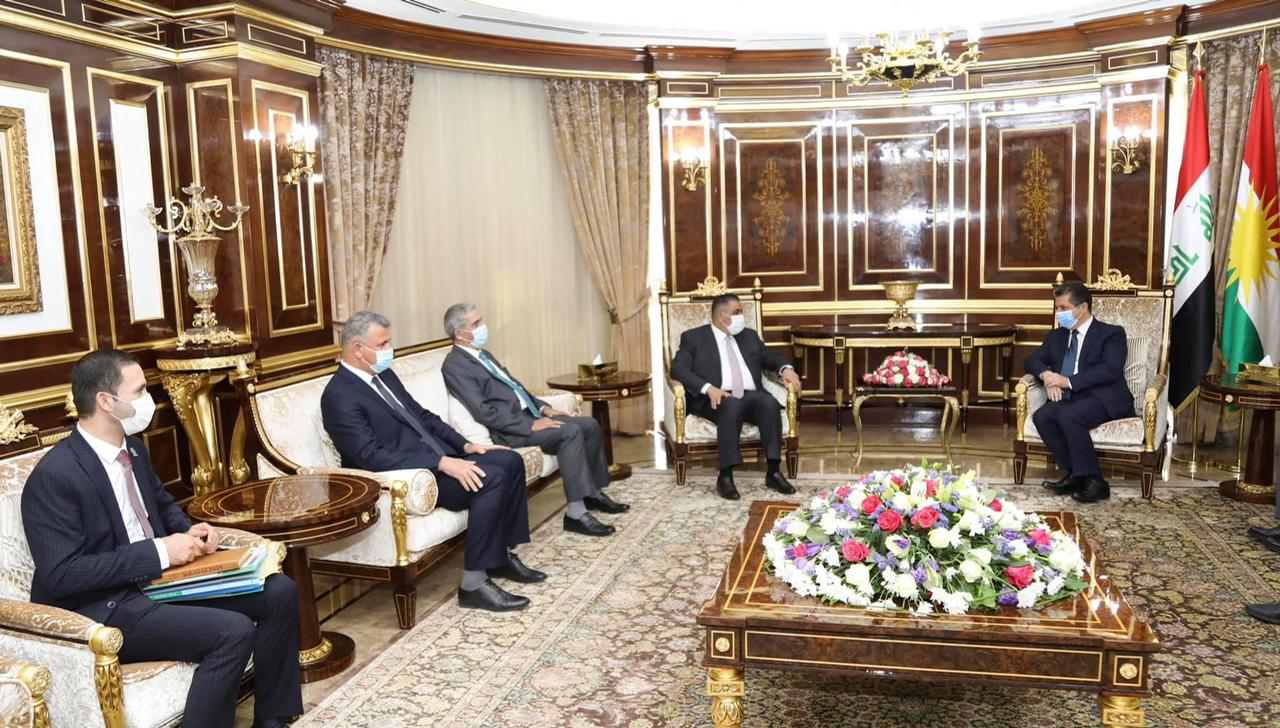 The Governor of the Central Bank of Iraq meets with the Presidency of the Kurdistan Region News-162426355984702