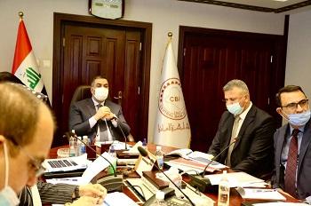 محافظ البنك المركزي العراقي يترأس اجتماع اللجنة العليا للشمول المالي في العراق
