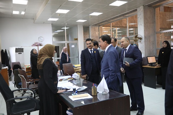 The Governor Praised Work Of Branch Staff Stressing That Iraqi Central Bank Support Banking Sector Working In Iraq