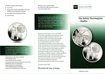 The Polish National Bank put up coins and commemorative commemorative coins for the class (20) zlotys File-155591283881225