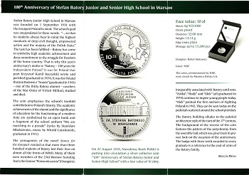 The Polish National Bank put up coins and commemorative commemorative coins for the class (20) zlotys File-155591370591926