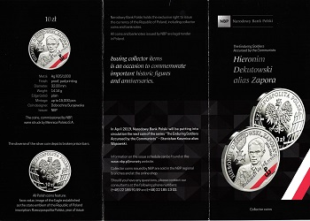 The Polish National Bank put up coins and commemorative commemorative coins for the class (20) zlotys File-155591512553913