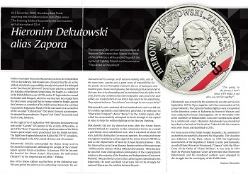 The Polish National Bank put up coins and commemorative commemorative coins for the class (20) zlotys File-155591515346416