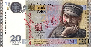 The Polish National Bank put up coins and commemorative commemorative coins for the class (20) zlotys File-155591531034300