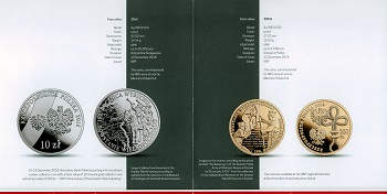 The Polish National Bank put up coins and commemorative commemorative coins for the class (20) zlotys File-155591736131369