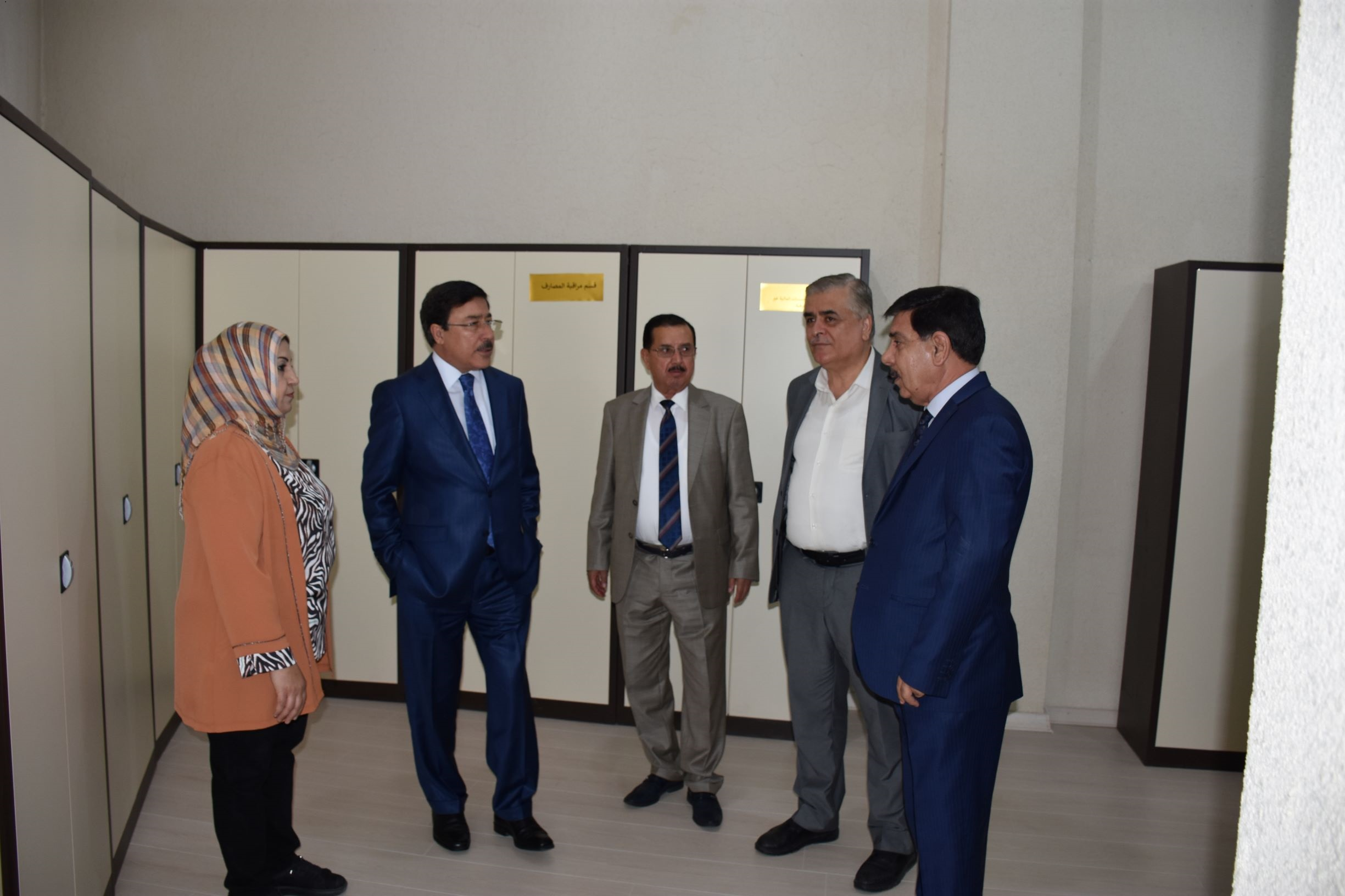 Visit of the Governor of the Central Bank of Iraq to Erbil Branch File-155661350510697