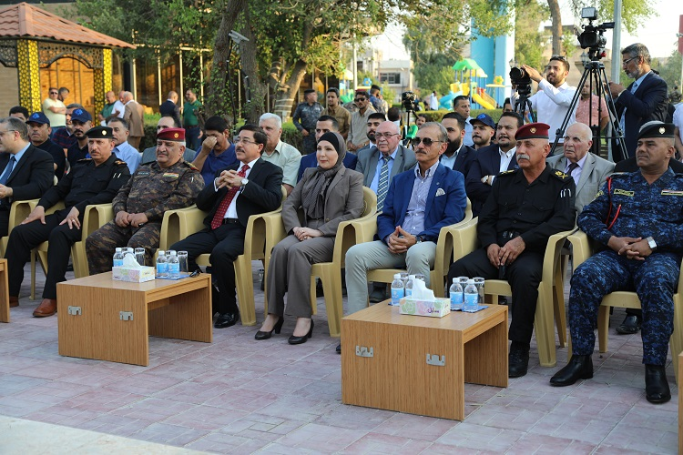 The Central Bank contributes to the rehabilitation of the second largest park in Baghdad File-156388082574966