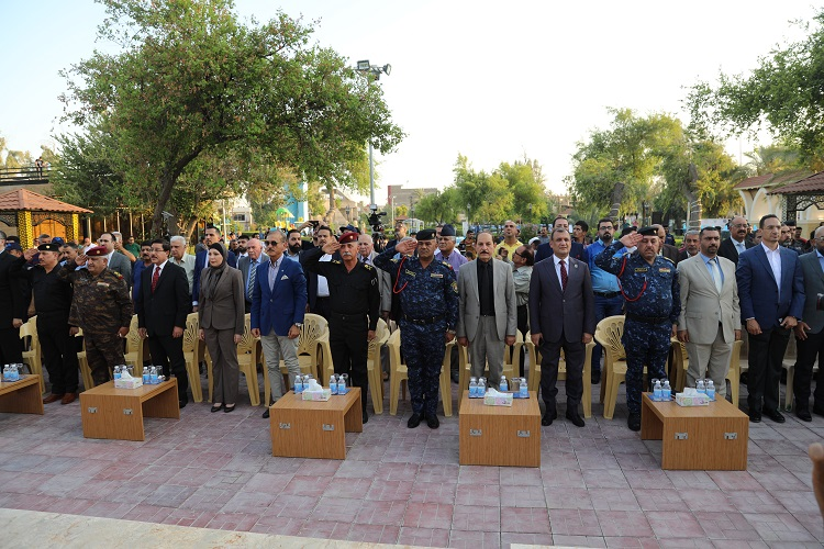The Central Bank contributes to the rehabilitation of the second largest park in Baghdad File-15638808618182