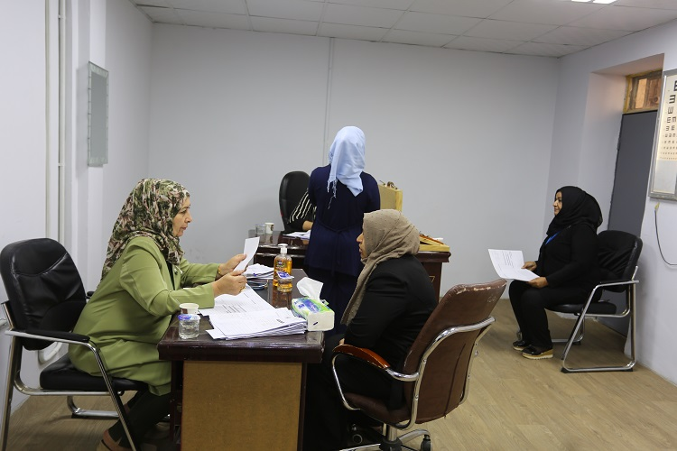 The National Center for Health and Safety conducts tests for employees of the Central Bank File-156793708797748