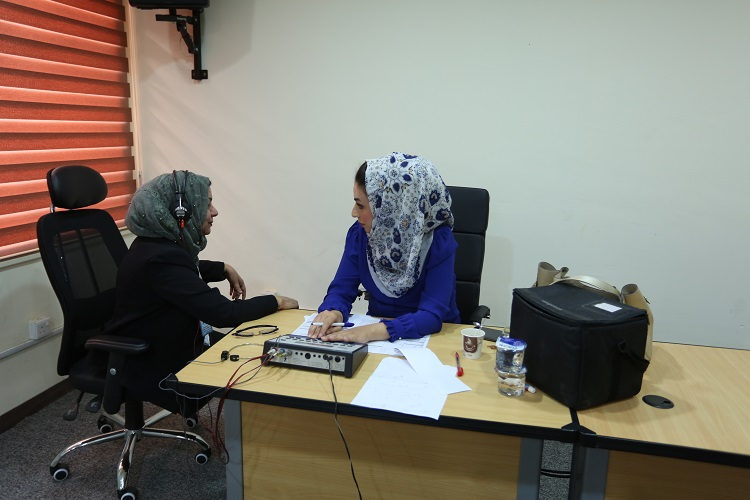 The National Center for Health and Safety conducts tests for employees of the Central Bank File-156793711267276