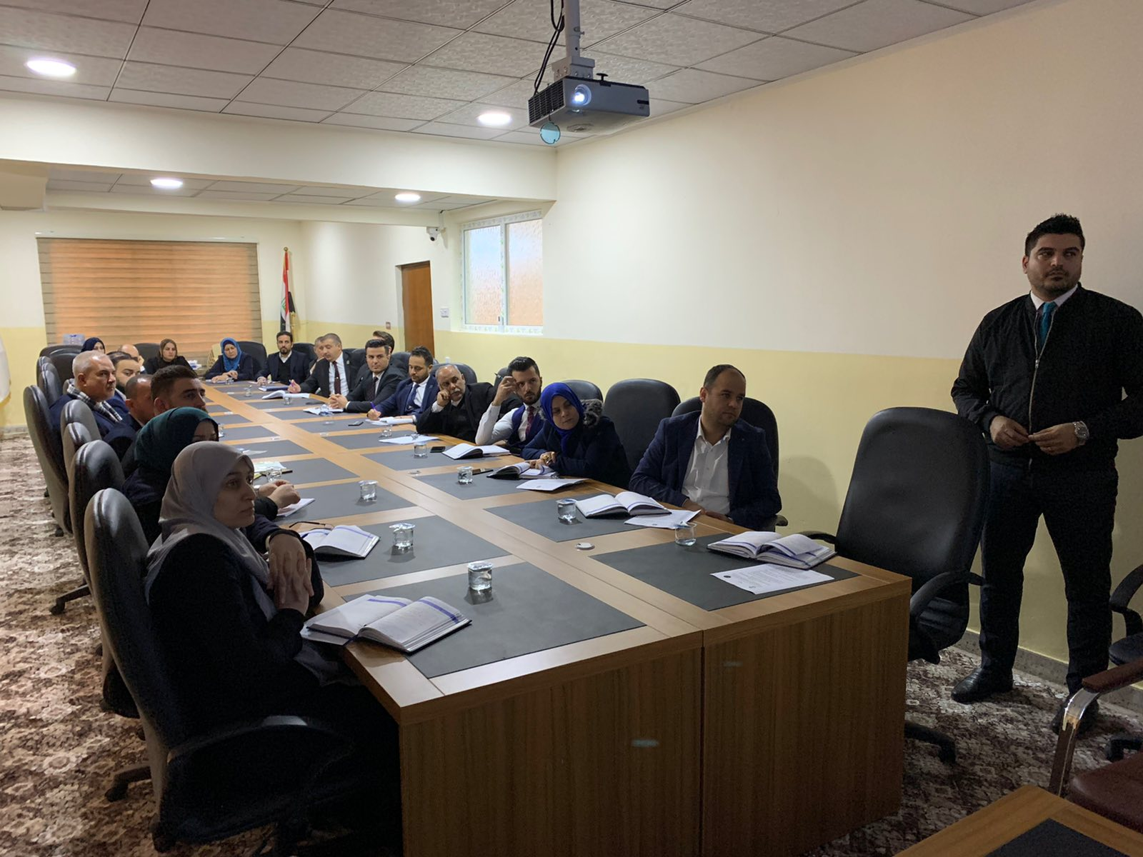 The central bank organizes a training course for its employees to introduce its regulatory laws and instructions File-15789980417066