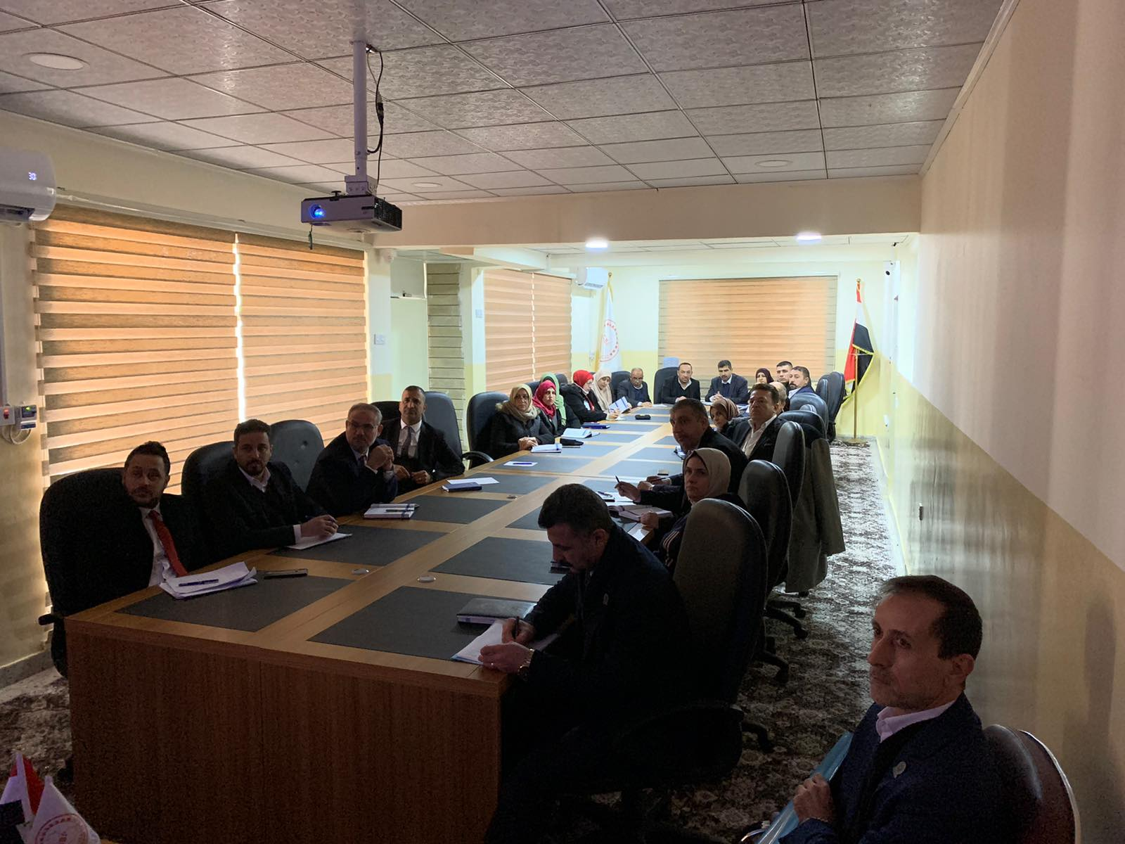 The Mosul branch organizes an introductory lecture to manage bank risks File-157942047985594