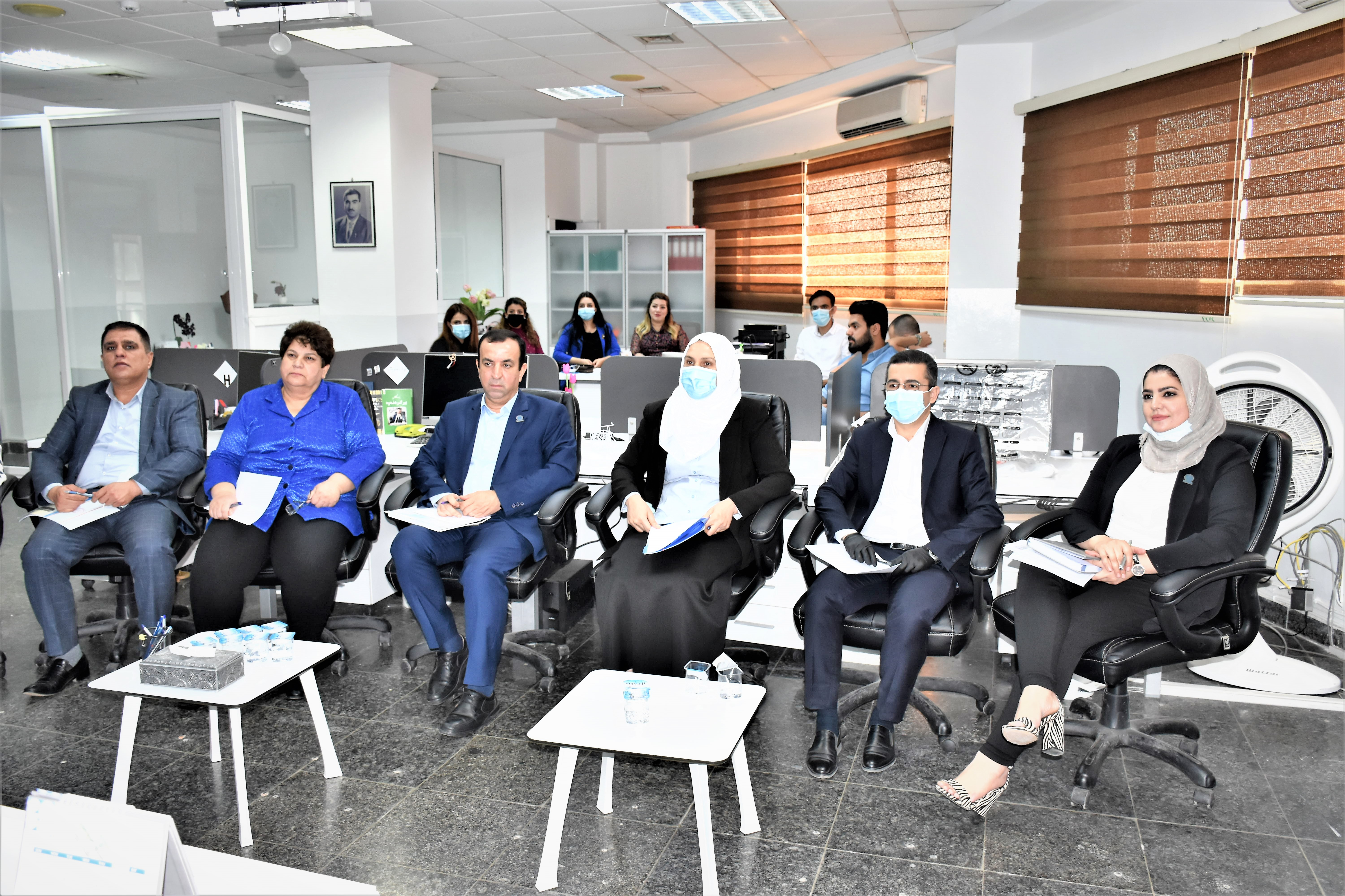 The Central Bank organizes a workshop on risk management and business continuity management system File-160421797766436