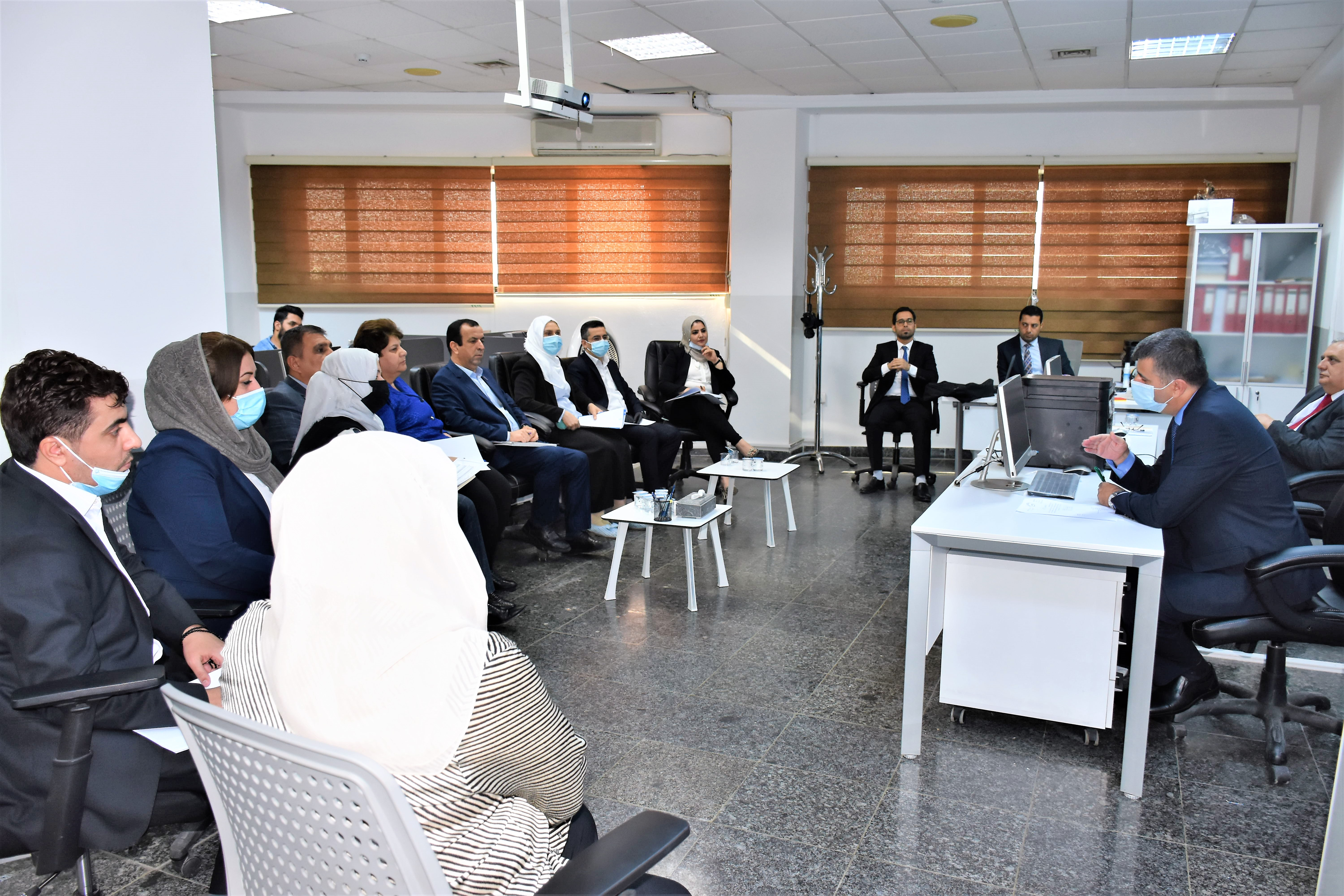 The Central Bank organizes a workshop on risk management and business continuity management system File-160421804975986