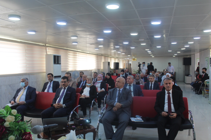 The Central Bank of Basra Branch sponsors the economic business incubator project File-162495172331046