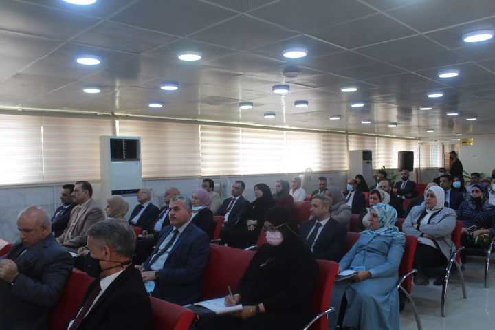 The Central Bank of Basra Branch sponsors the economic business incubator project File-16249517612372
